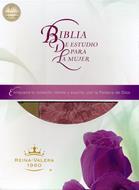 Biblia de estudio para la mujer (Piel) [Biblia]