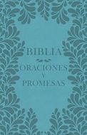 Biblia Oraciones Y Promesas/NVI/Azul Marino/Simil Piel/Mujer