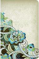 Biblia Clásica Edición Especial Flexible Verde Turquesa Floral