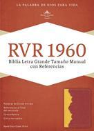 Biblia Manual Imitación Amber Rojo Ladrillo