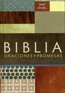 Oraciones  y promesas (Tapa dura) [Biblia]