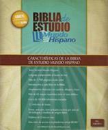 Biblia de Estudio Mundo Hispano (Piel europea) [Biblia]