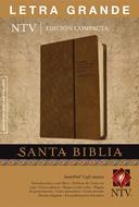 Biblia Compacta Letra Grande Café