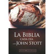 Biblia Cada Dia Con John Stott (Tapa Flexible)