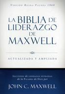 Biblia De Liderazgo De Maxwell RVR Piel Italiana (Actualizada y Ampliada) (Piel Italiana) [Biblia]