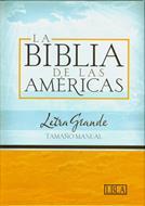 La Biblia de las Américas Letra Grande Tamaño Manual