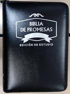 Biblia Tamaño 045 Promesas Negra