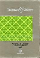 Agenda 2017 Tesoros Clasicos Gris Verde (Piel) [Agenda]