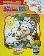 Salmo 23 Para Niños Cartilla Para Colorear