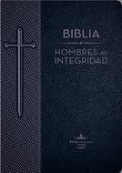 Biblia Hombres De Integridad/RVR1960/Piel Especial/Azul (Imitación Piel)