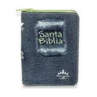 Biblia Jean Cierre Con Indice Acolchada Verde