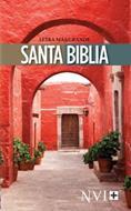 Biblia Letra Mas Grande Rustica Porton Rojo