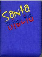 Biblia RVR60 Tamaño 024CZLGA  Colombianita Azul Rey