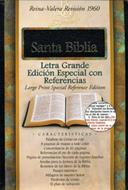 Biblia edicion especial referencia letra grande piel fabricada indice