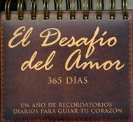 Calendario el desafío del amor 365 días