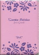 Biblia RVC Tamaño 045 Rosado