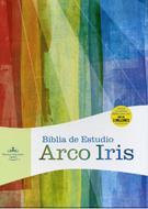 Biblia De Estudio Arco Iris (Piel Fabicada) [Biblia]