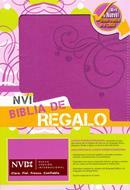 Biblia de regalo NVI dos tonos italiana rosada