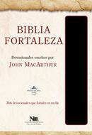 Biblia Fortaleza Imitación Piel Negro