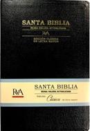 Biblia Negra Letra Grande (Imitación Piel) [Biblia]