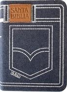 Biblia Tamaño 024 Jean Azul