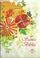 Biblia Tamaño 042 Indice Crema Flores
