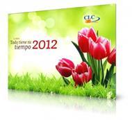 Calendario todo tiene su tiempo 2012