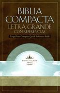 Biblia compacta letra grande con referencias (Esmeralda)