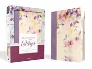 Biblia de Estudio para la Mujer NVI Leathersoft Tela-Lila (Flexible Estampado Flores) [Bíblia]