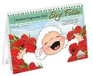 Calendario Ovejitas Soy Feliz 2020 [Calendario] -  Para Escritorio