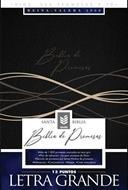 Biblia De Promesas/RVR60/Letra Grande/Negro (Imitacion Piel )