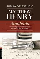Biblia Estudio Matthew Henry (Tapa Dura) [Biblia de Estudio]