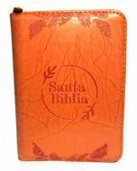 Biblia RVR 045CZLG PJR Naranja Canto Dorado