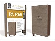 Biblias RVR60/Letra Grande/Serie 50 (10)/Gris Tamaño Manual