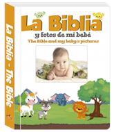 Biblia Y Fotos De Mi Bebe (tapa acolchada) [Álbum]