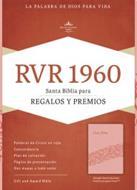 Biblia RVR60 Regalos Y Premios/Rosado/Simil Piel