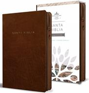 Biblia RVR60/Letra Grande/Tamaño Manual/Marron