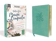 Biblia NVI De La Mama Ocupada/Leathersoft/Turquesa/Letra Roja