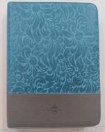 Biblia/RVR086cZTILGi / Azul Gris/Indice Letra Gigante