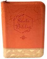 Biblia/RVR045cZLM PJR/Naranja Beige