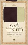Biblia plenitud manual para hombre (Imitación piel blanca) [RVR 1960]