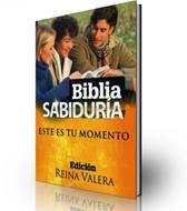 Biblia sabiduría este es tu momento