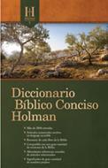 Diccionario bíblico conciso Holman