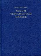 Nuevo testamento griego, edición 27 nestle