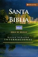 Santa biblia NVI (Imitación piel) [Bolsilibro]
