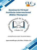 Seminario Virtual Biblia Thompson 23 de Noviembre