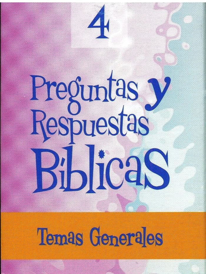 Preguntas Y Respuestas Bilingue N.4