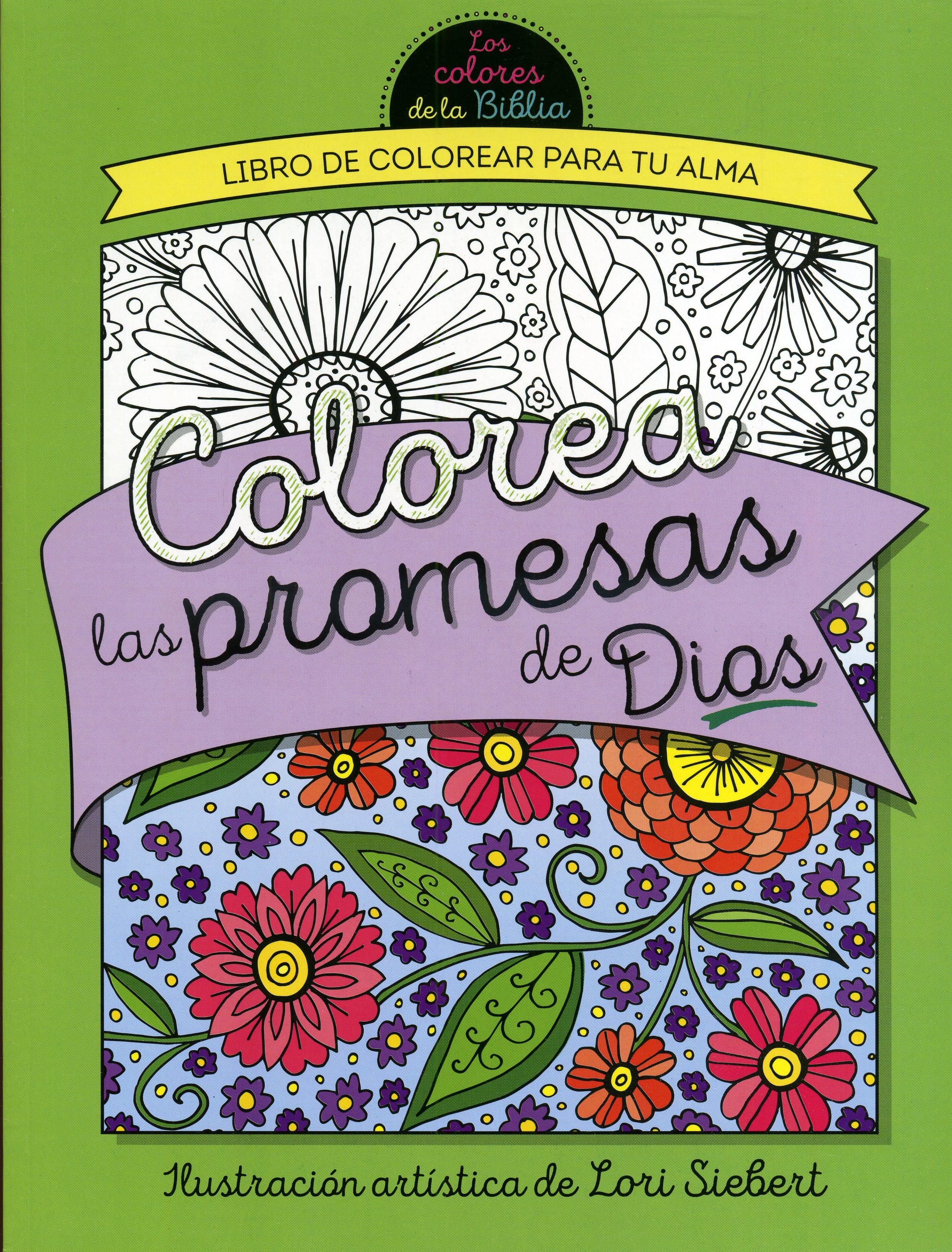 Colorea las Promesas de Dios: Libro de Colorear para Adultos ...