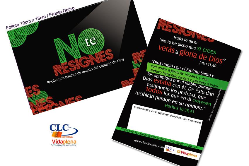 No Te Resignes Serie Tratados CLC