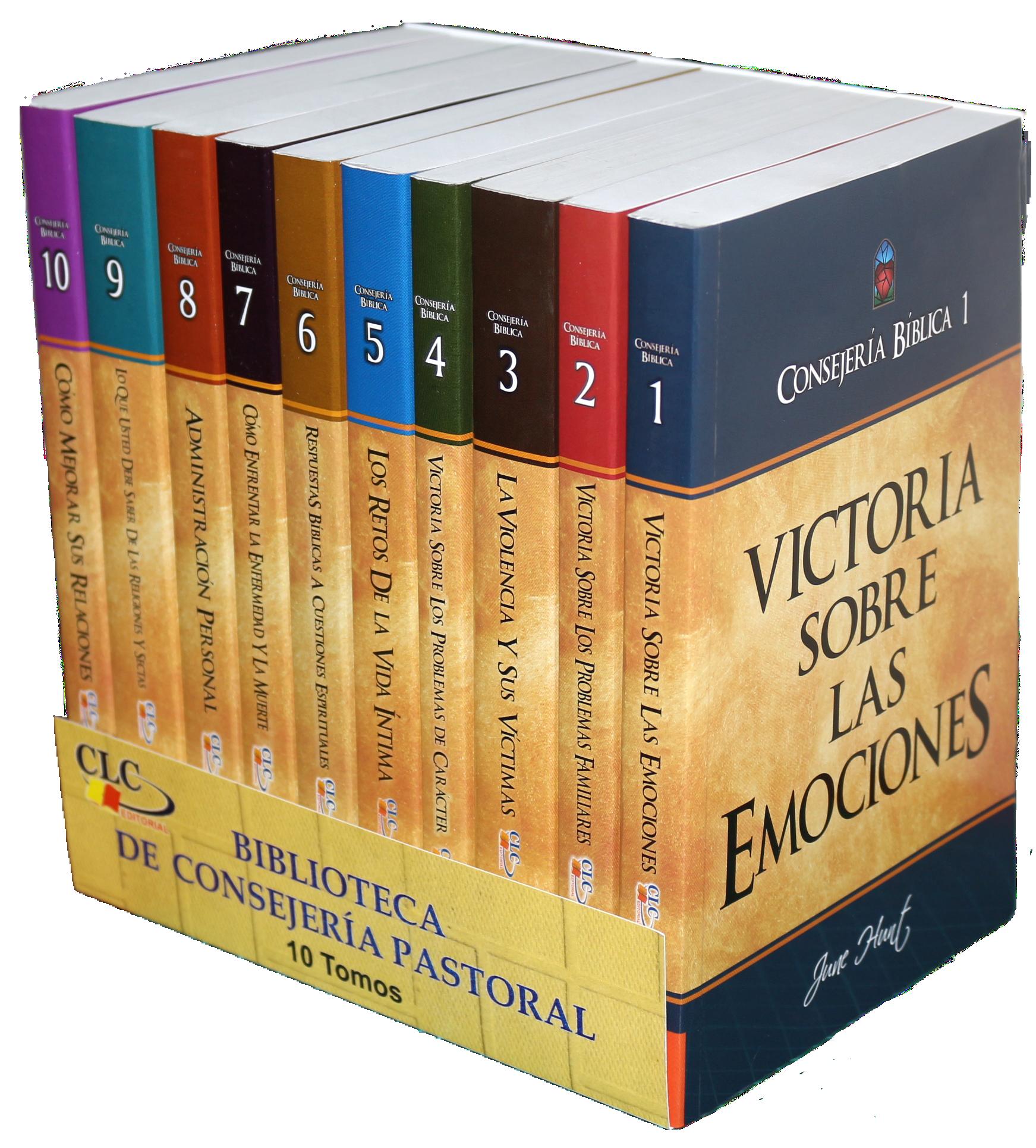 Paquete Consejería Bíblica Tomo 1 al 10